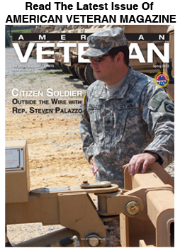 cover of American Veteran Magazines Winter Issue